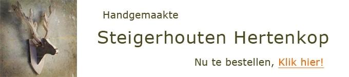 Steigerhouten Hertenkoppen